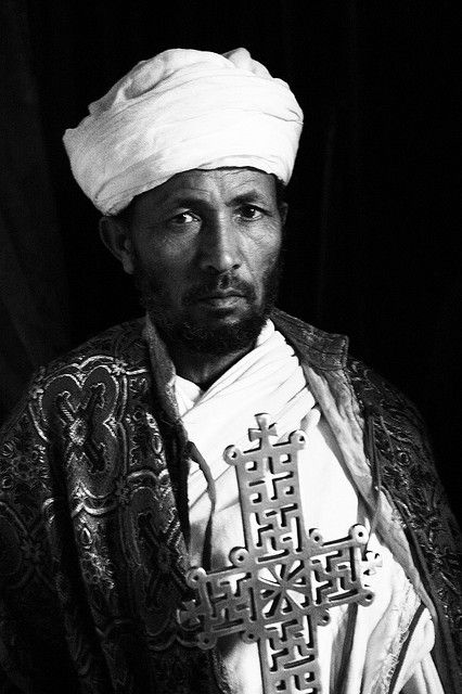 Orthodox priest . Ethiopia