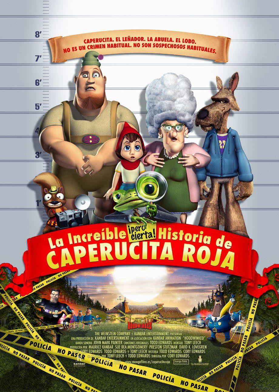 La Increíble Pero Cierta Historia De Caperucita Roja Películas De Animación Caperucita Roja Caperucita Roja Cuento Infantil