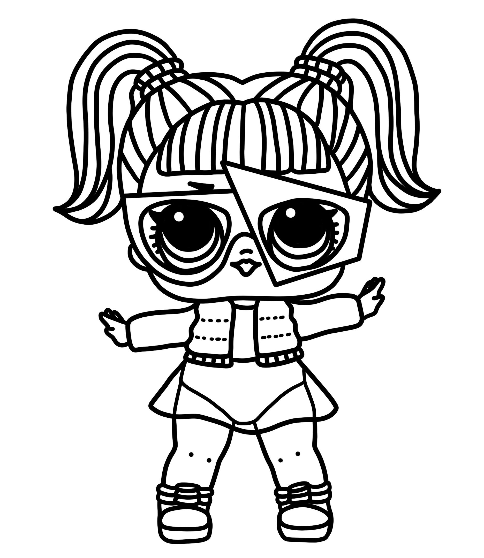 New 2019 Coloring Pages Lol Surprise Sparkle Glamstronaut Visit