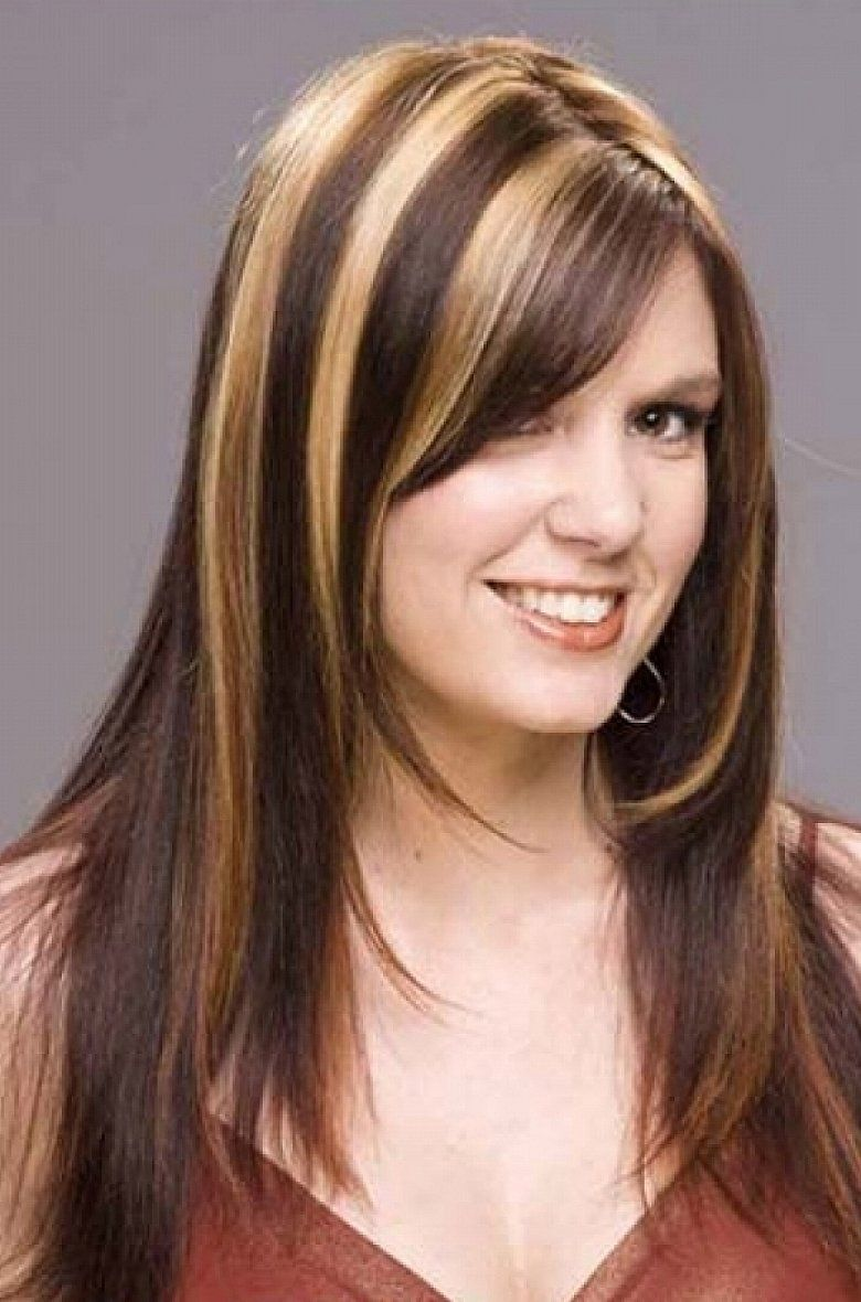 ... Pinterest ... Medium Brown Hair With Caramel And Blonde Highlights