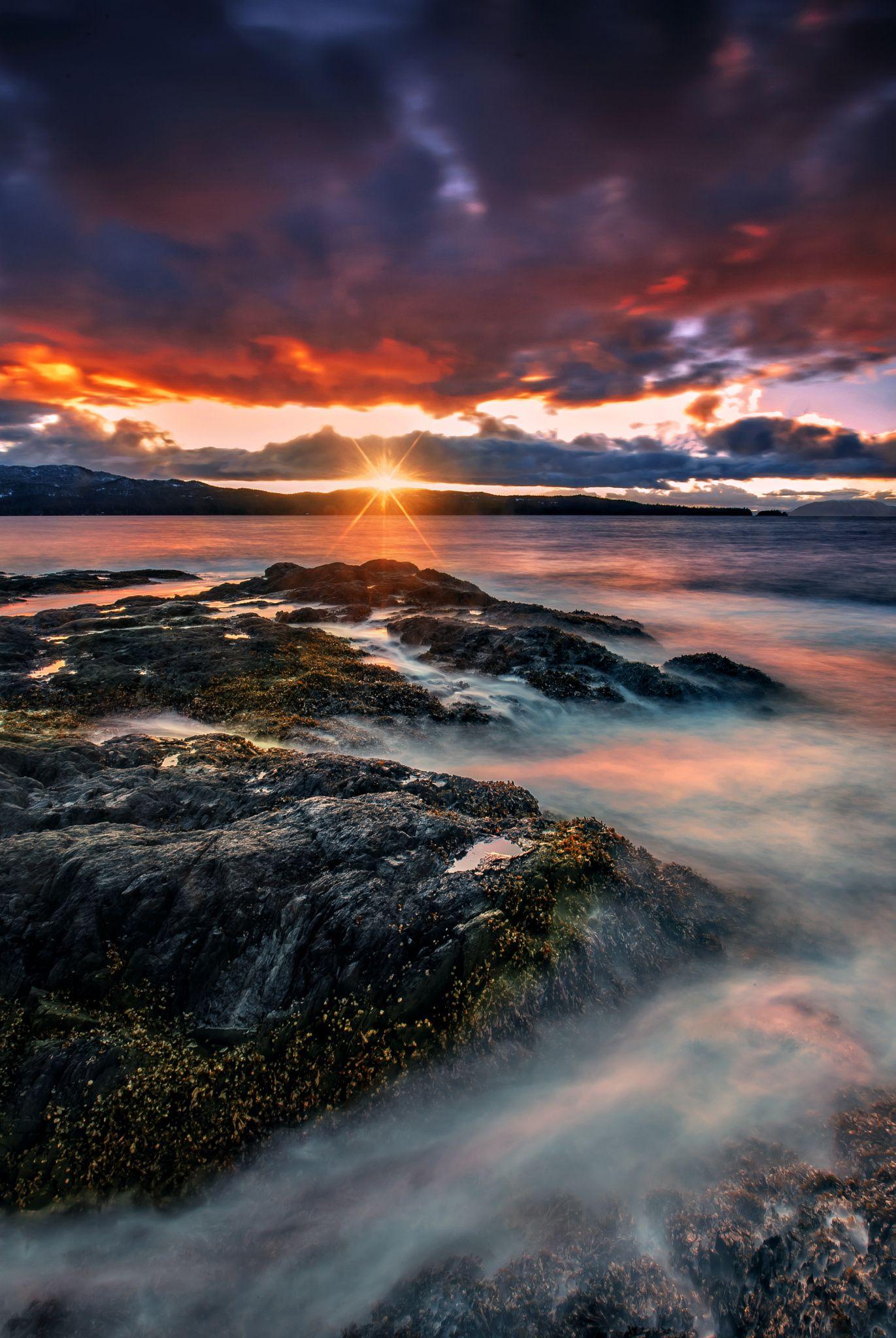 Coastal Sunset by Carlos Rojas on 500px...