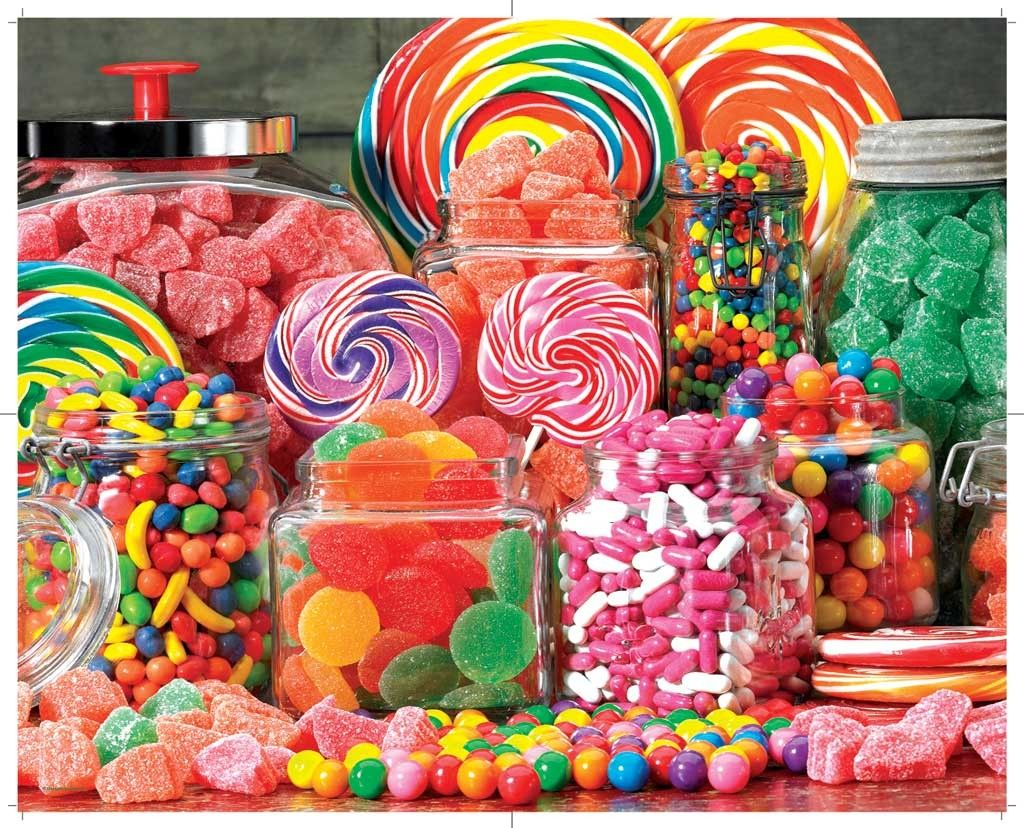 Candy Galore 1000pc Jigsaw Puzzle By Springbok Puzzles