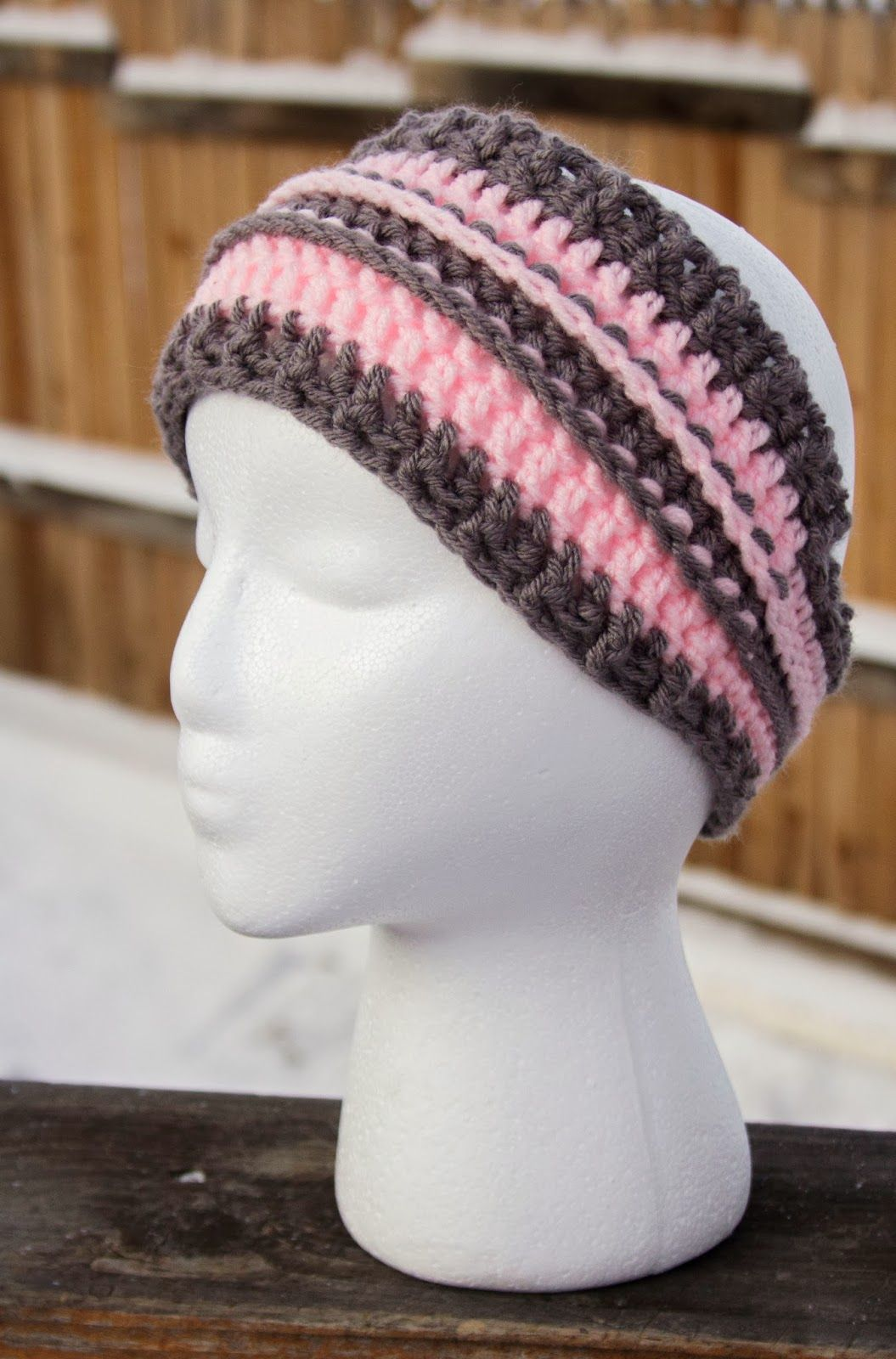 Manda Nicole\'s Crochet Patterns: Head Wrap - Free pattern | Hat ...