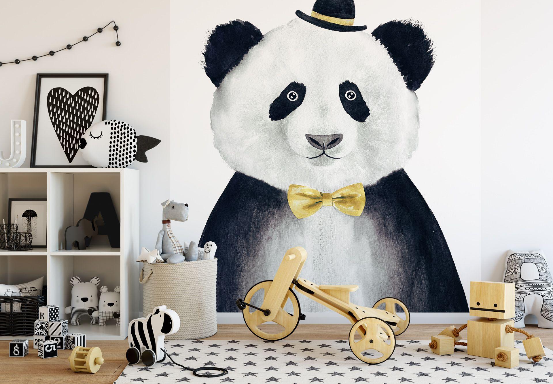 Fototapete Cuddly Gentleman   Fototapete und Kinderzimmer