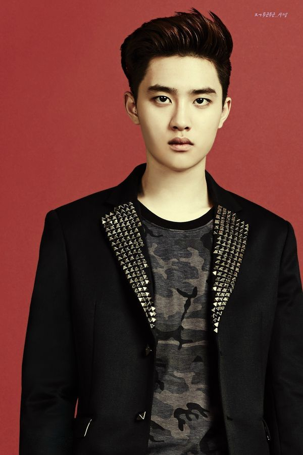 EXO's Kyungsoo in IVY Club for Back To School photoshoot.