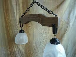 Resultado de imagen para lamparas de madera rusticas colgantes