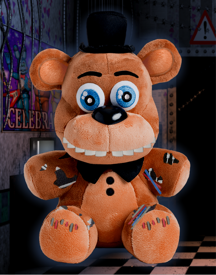 Sanshee - Withered Freddy Plush by FreddyFazbear225 | fnaf fan