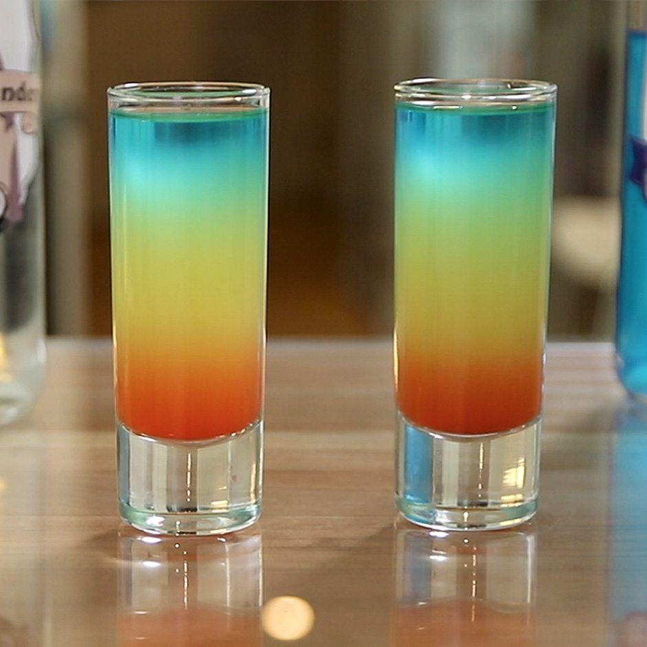 Northern Lights Cocktail Tipsybartender Com Tipsy Bartender Vodka Shots Recipe Rainbow Drinks