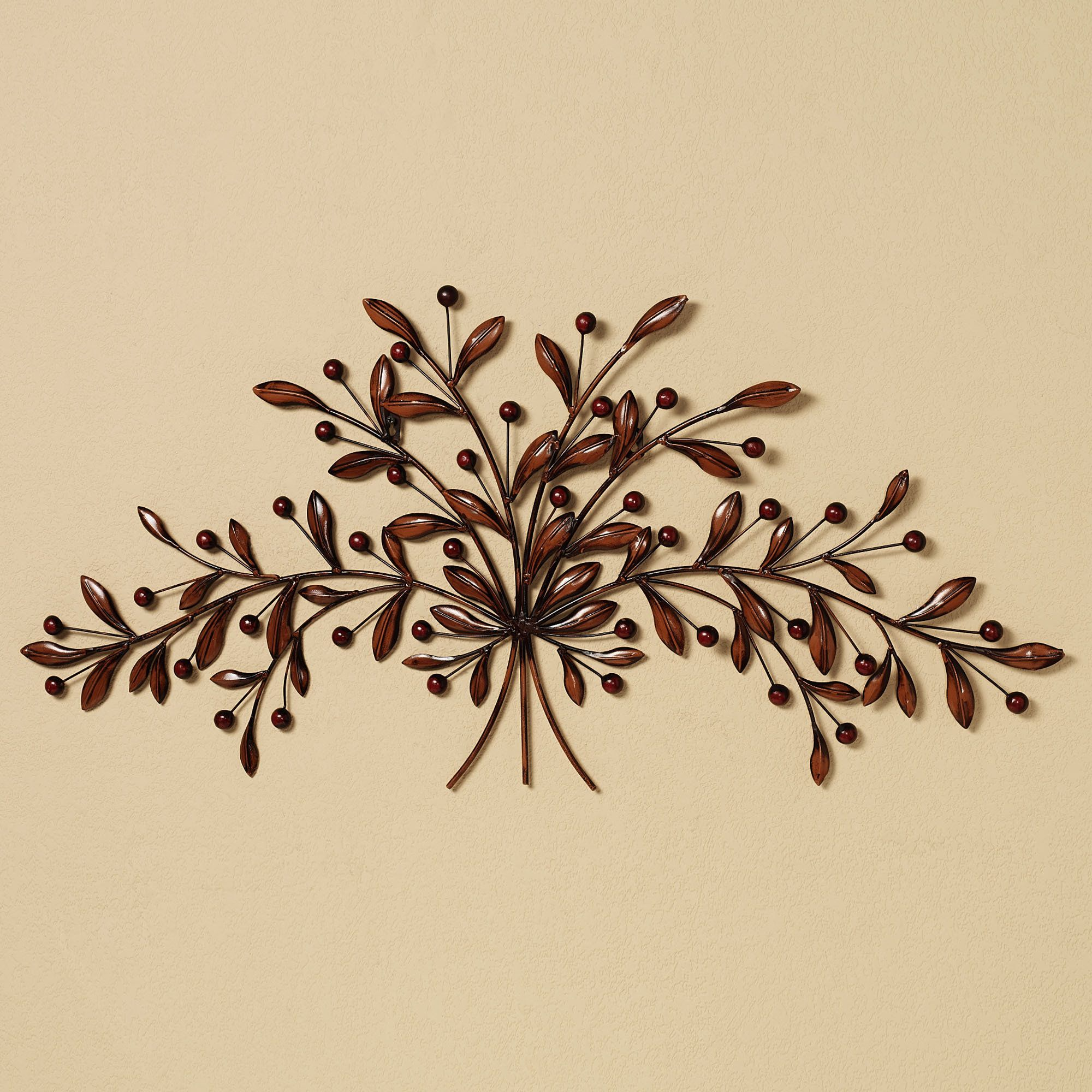 Cantabria Branch Metal Wall Art Spray