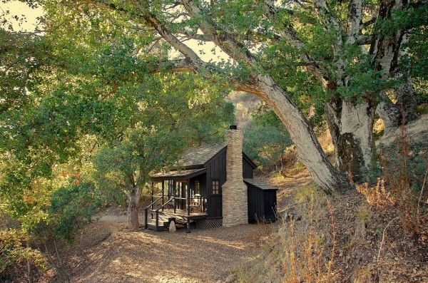 Exceptionnel Innermost House Tiny Cabin Where The Owners Lived Simply Seven Years  Without Electricity. Northern California