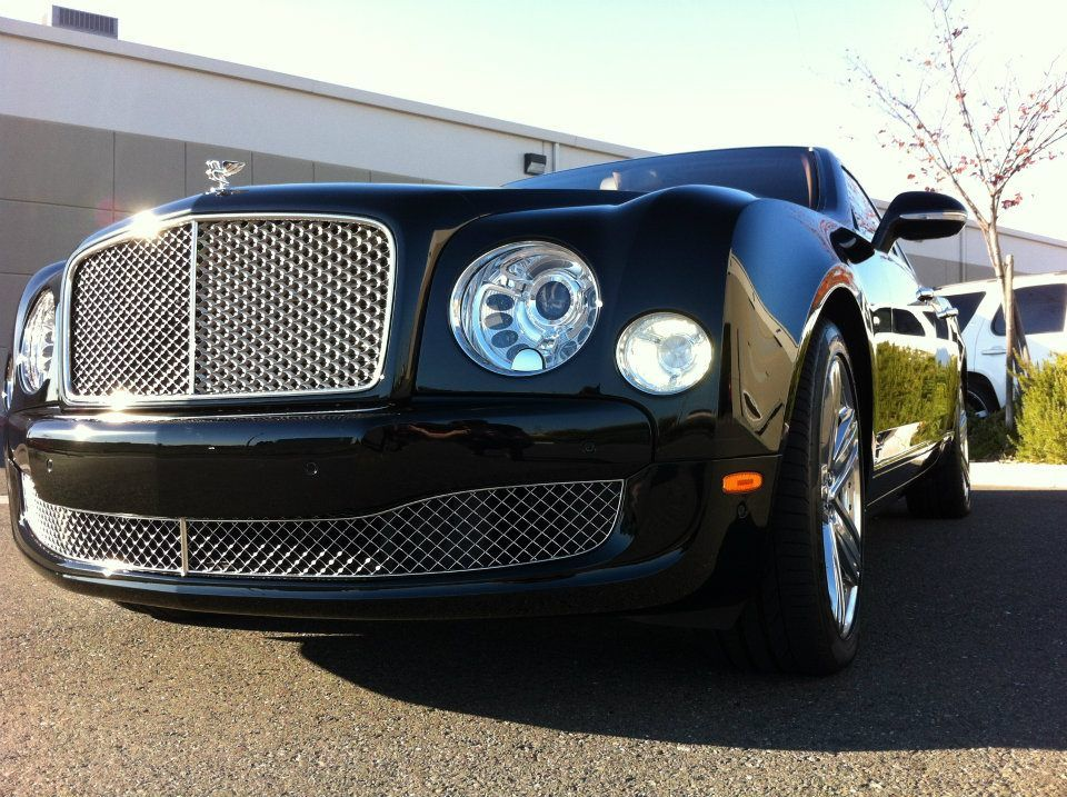 Paint Protection Installed on a 2012 Bently Mulsanne