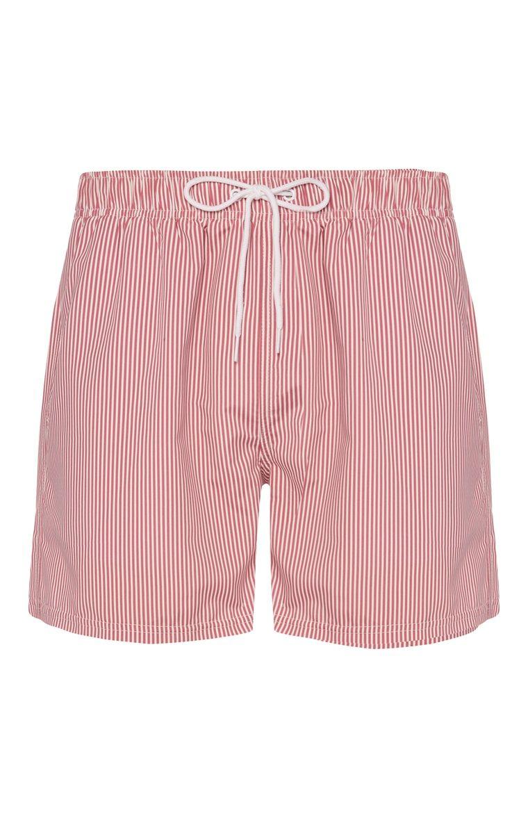c6c39edc00d8 Pink Pinstripe Swim Shorts | Menswear | Swim shorts, Shorts, Swim trunks