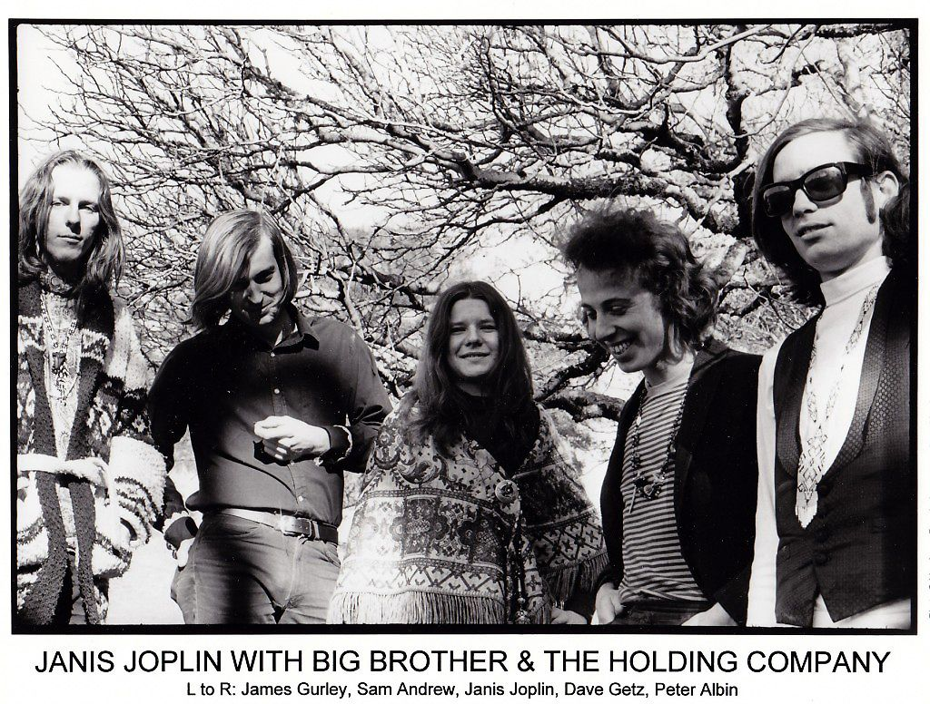 69bfabd4b62 Janis Joplin with Big Brother   The Holding Company Promotional Photo 1968