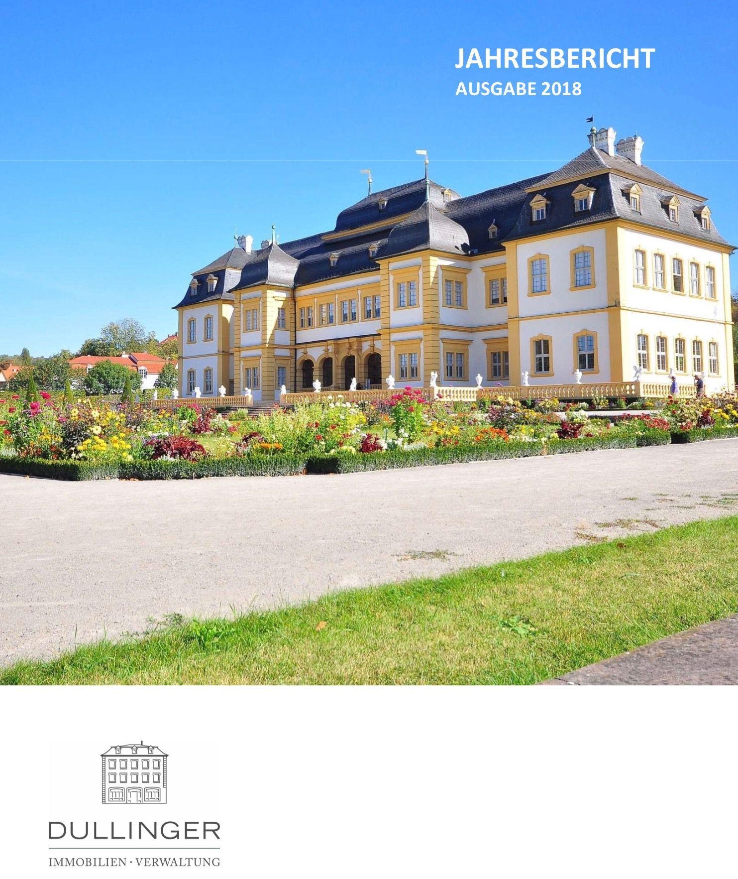 Dullinger Immobilien Verwaltung Jahresbericht 2018 unter