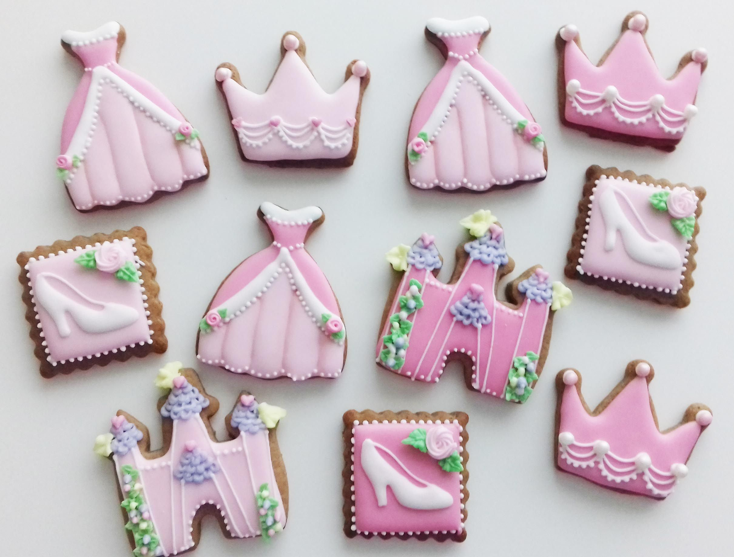 Princess Cookies By Lille Kage Hus