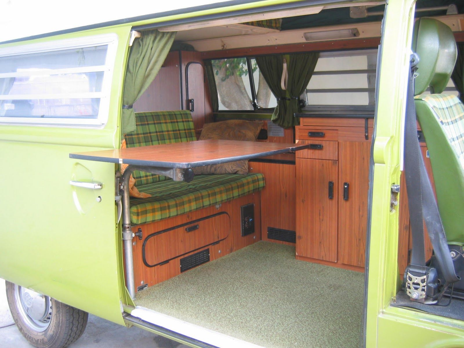 Interieur Buscamper Original Interior | Vw Bus | Volkswagen Interior, Vw Bus