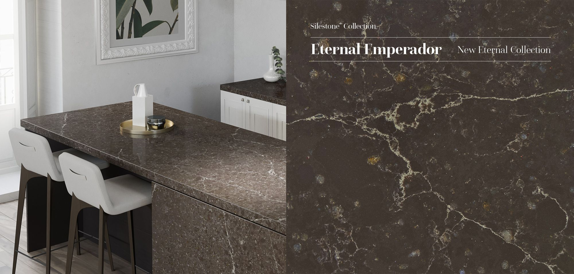 New Silestone Eternal Emperador Is Tradition And Elegance