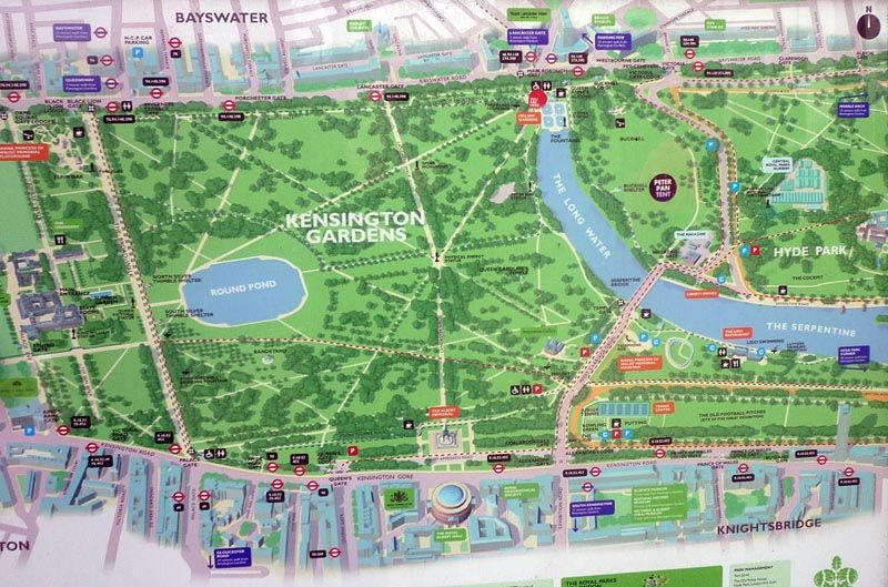 Kensington Garden map The Lost Young Womens Society Pinterest