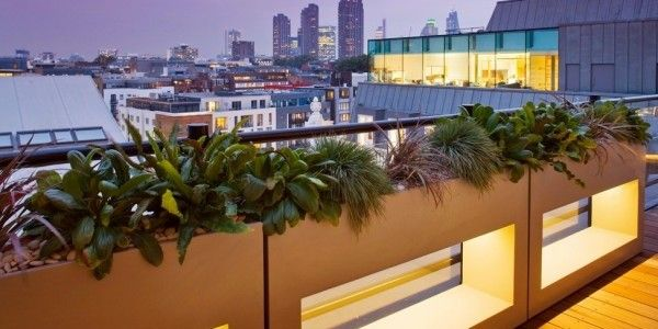 Inspirational Roof garden designs Ideas