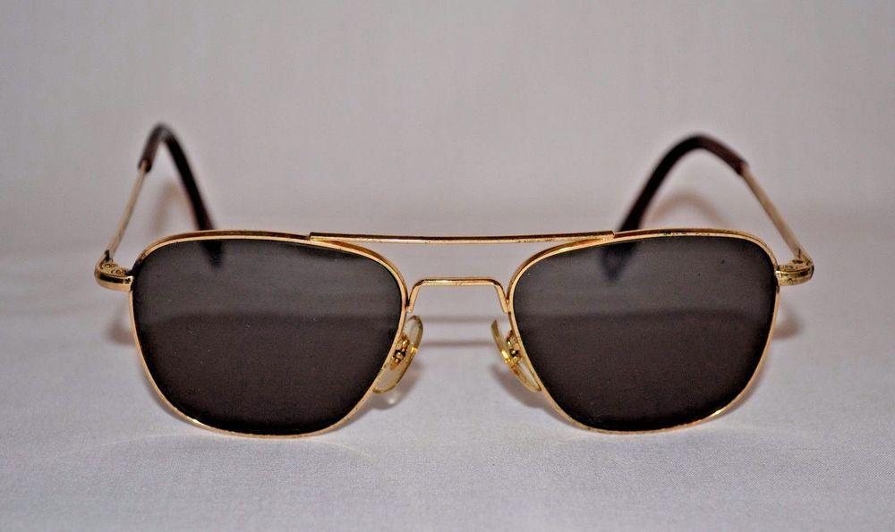 AMERICAN OPTICAL AO USA 24K Vintage Aviator Sunglasses  AmericanOptical   VintageAviatorSunglasses 0593c0e5e55