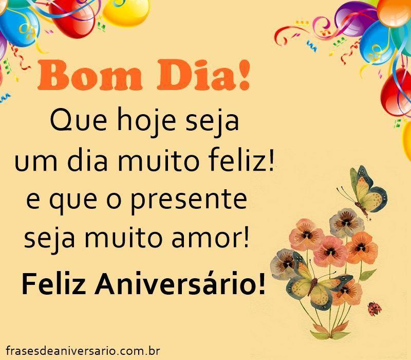 Muitas vezes bom-dia-aniversario | MENSAGENS DE ANIVERSÁRIO | Pinterest | Happy  AF44