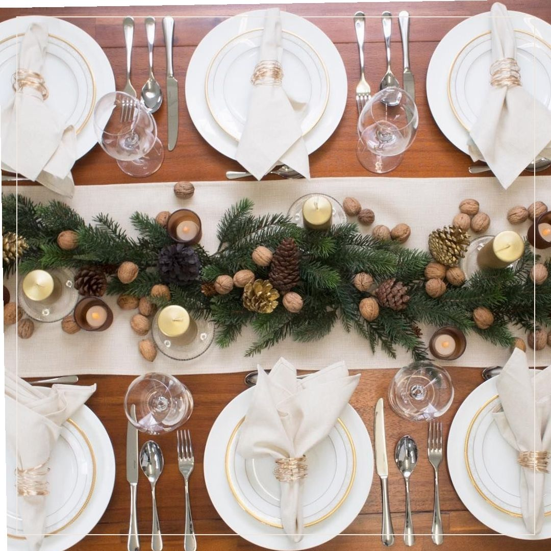 Christmas Table Decorations 59885 Alternative Christmas Table Decor Popsugar Home Uk Christmas Table Christmas Table Settings Xmas Table Decorations