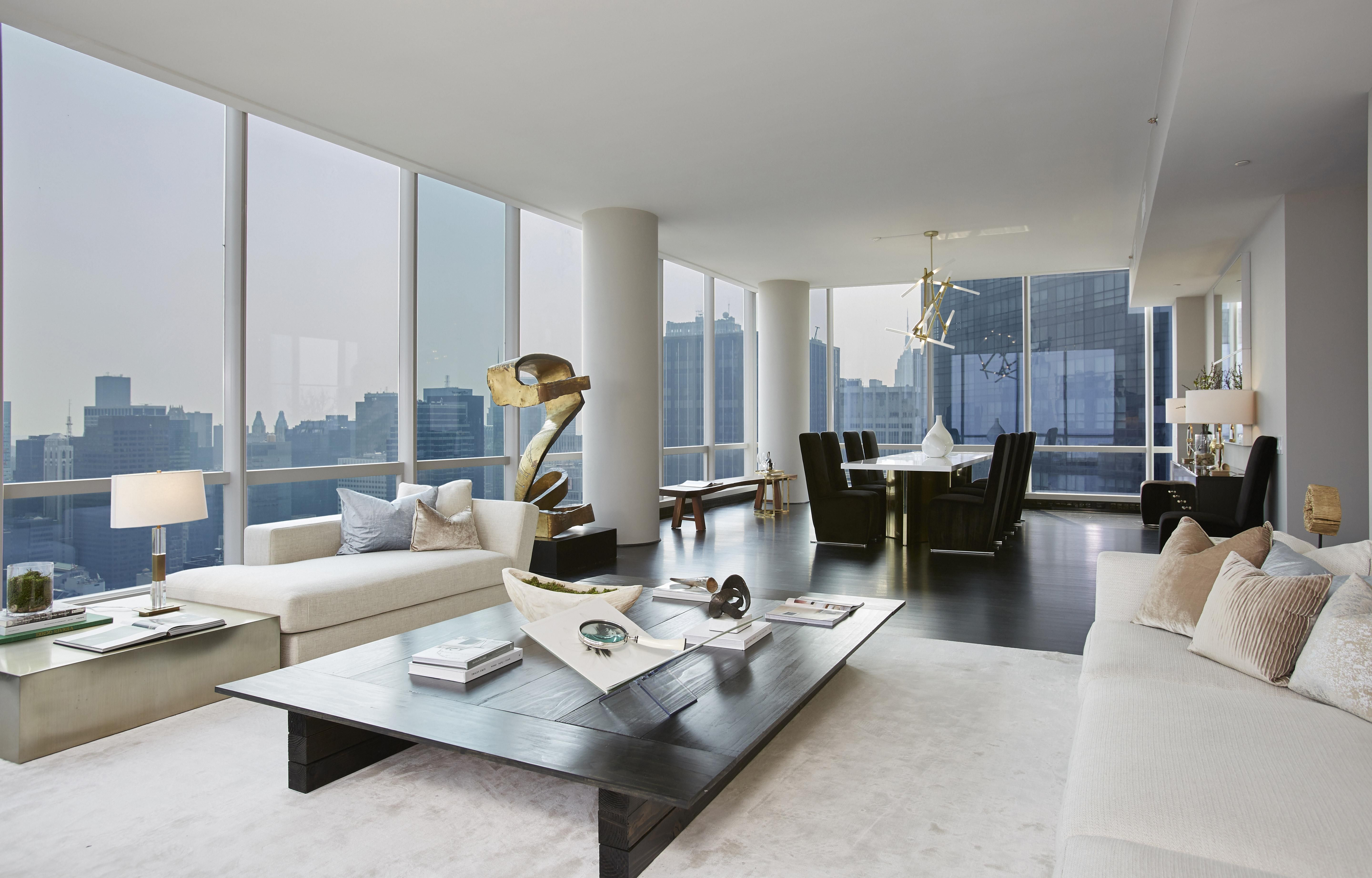 You Could Own A Midtown Manhattan Apartment With Sweeping Central Park Views New York Apartment Luxury Luxury Apartments Interior Luxury Apartment Interior Design