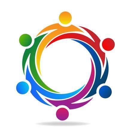 Stock Vector in 2020 | Circle logo design, Kindergarten ...