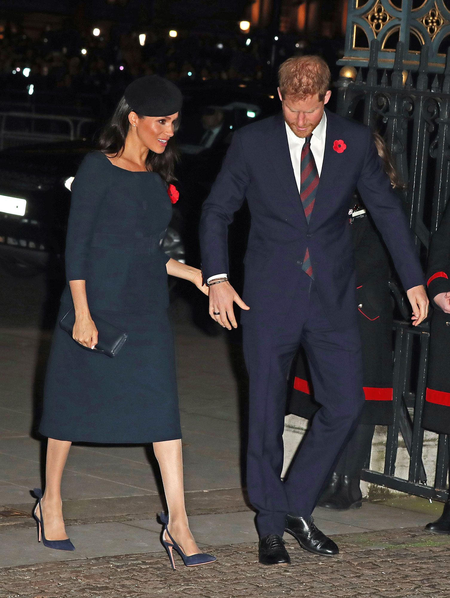 80s wedding decorations november 2018 Pregnant Meghan Markle Shows Growing Baby Bump While Holding Hands