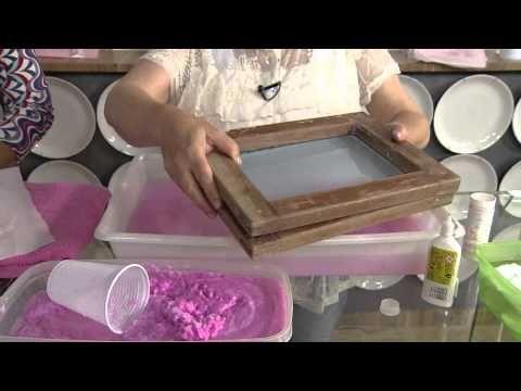 Veja como reciclar cadernos velhos e transformar o papel em um lindo con...