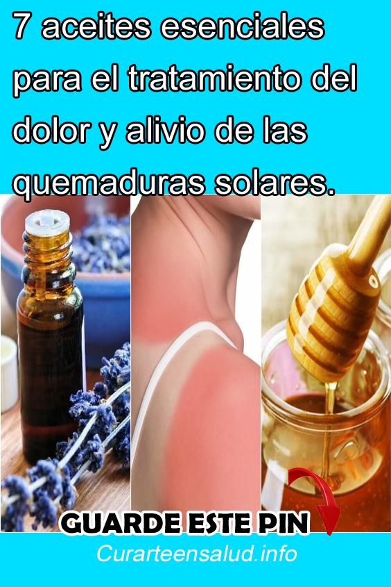 Remedios Caseros Para Quemaduras De Aceite