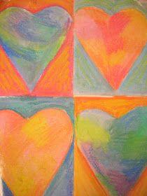 The Elementary Art Room!: Jim Dine Hearts