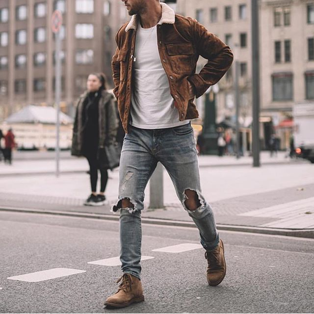 Style 101: How to Wear Chukka Boots | Men casual