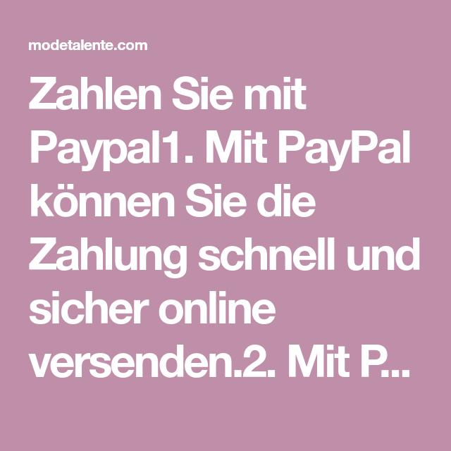 Kann Mit Paypal Nicht Zahlen