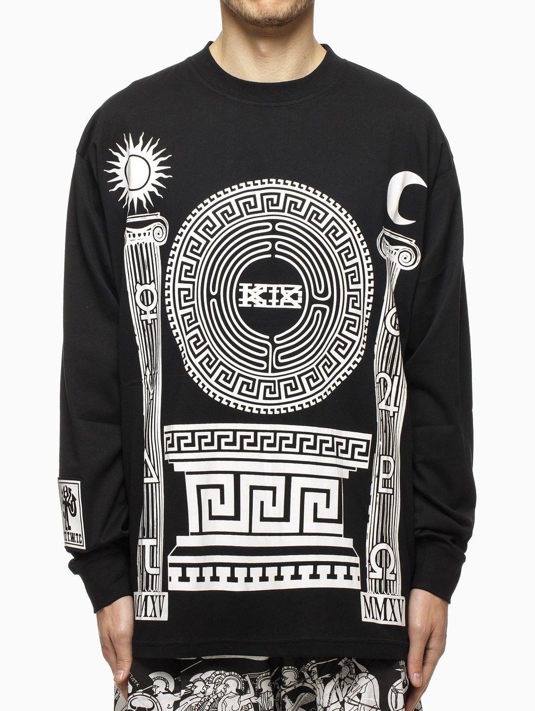 Long sleeve t-shirt from S/S2015 KTZ Kokon To Zai collection in black