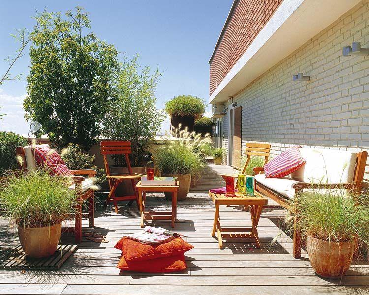 Pin de carmen mora en jardines y terrazas pinterest - Jardines en aticos ...