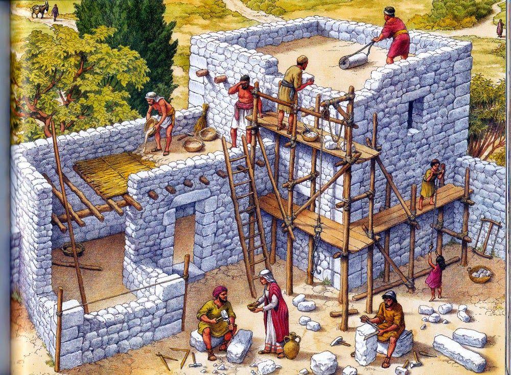 ARQUITECTURA HEBREA EN TIEMPOS DE JESUS Casas para