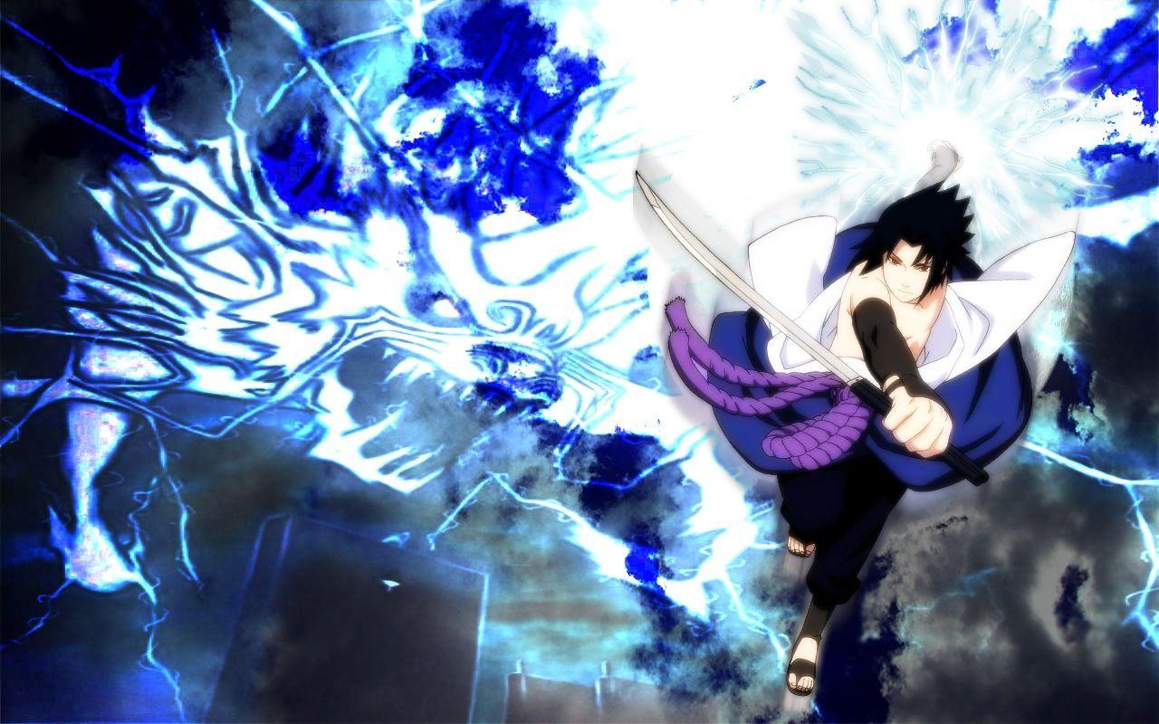 Wallpaper Keren 3d Anime Sasuke