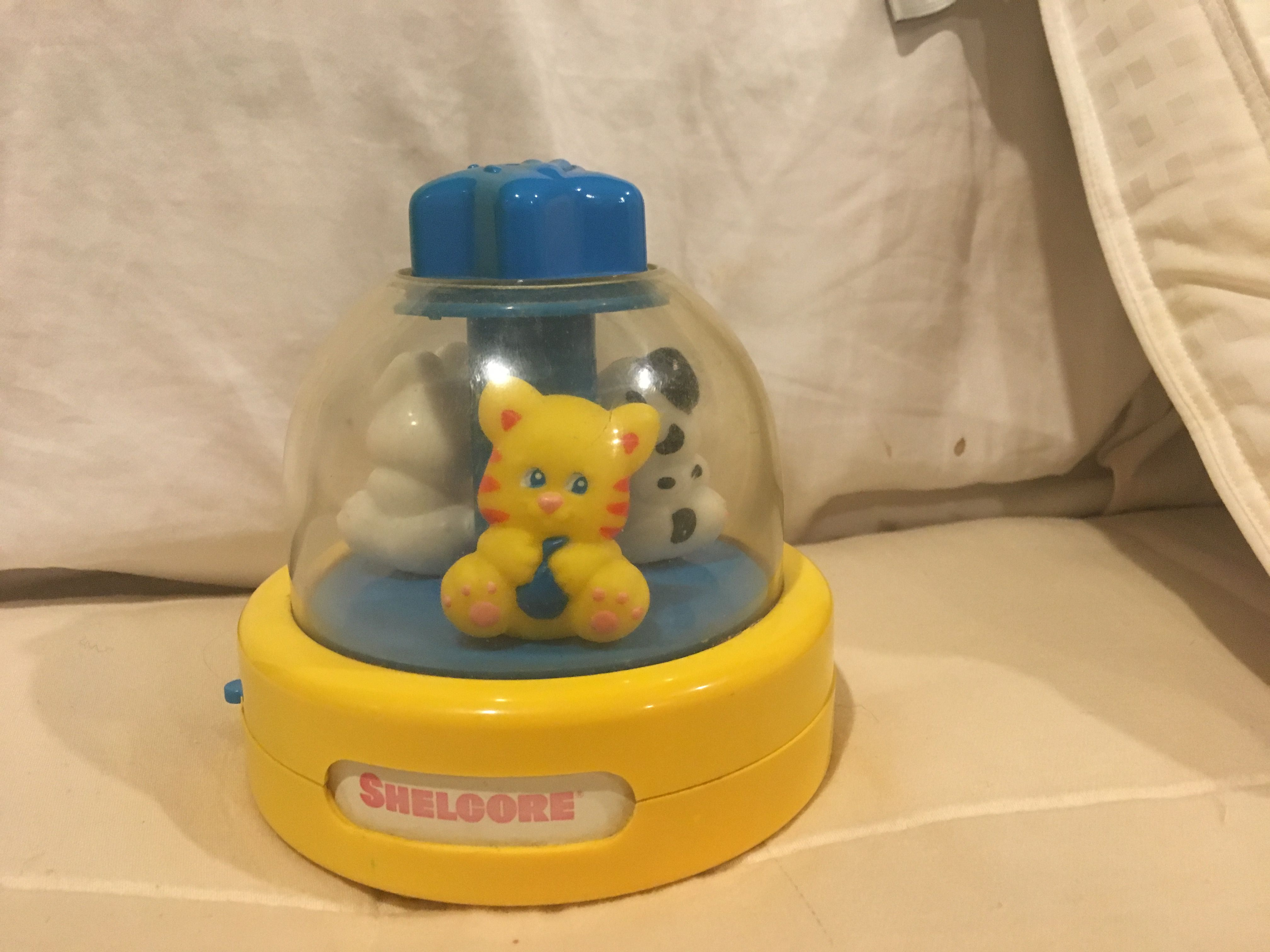 Babies music box animal carousel by SHELCORE from language