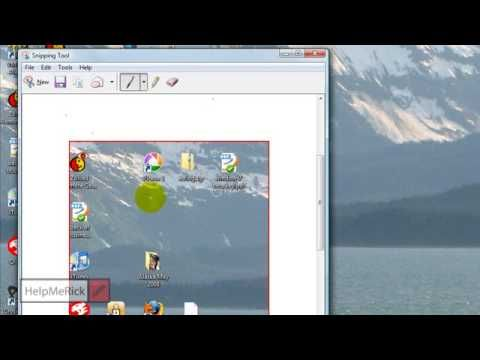 A little video explaining how to use the super-useful-and-free Windows snipping tool.