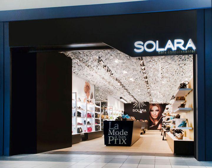 Solara shoe store by Ruscio Studio, St Jean sur Richelieu - Canada