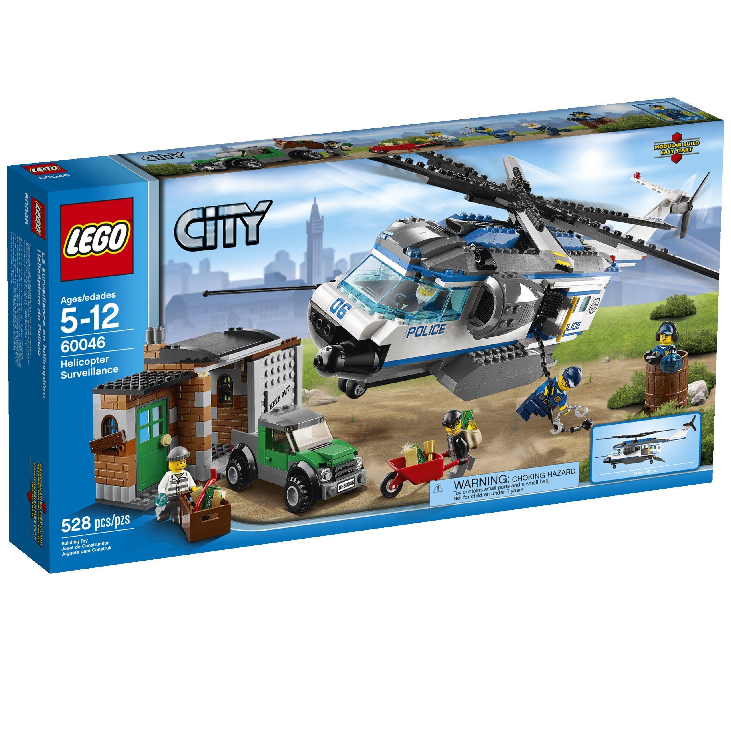 Lego City Police 60046 Helicopter Surveillance Lego City Police Lego City Helicopter Lego City