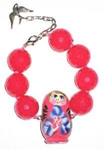 Maatushka bracelet pink