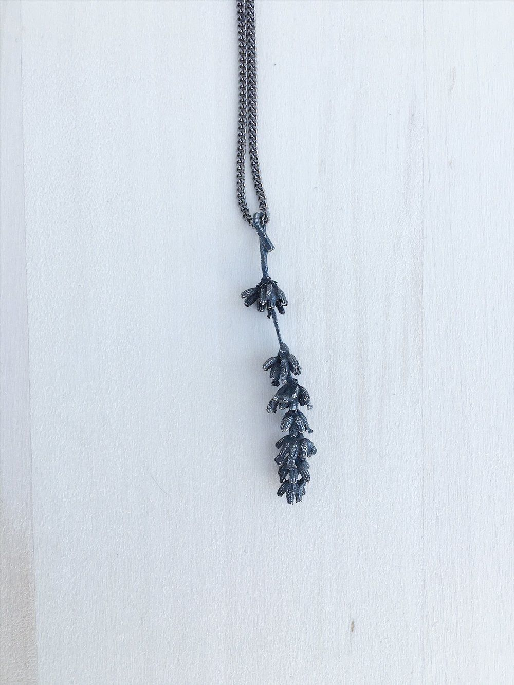 Lavender Necklace 1 — Mercury Hour