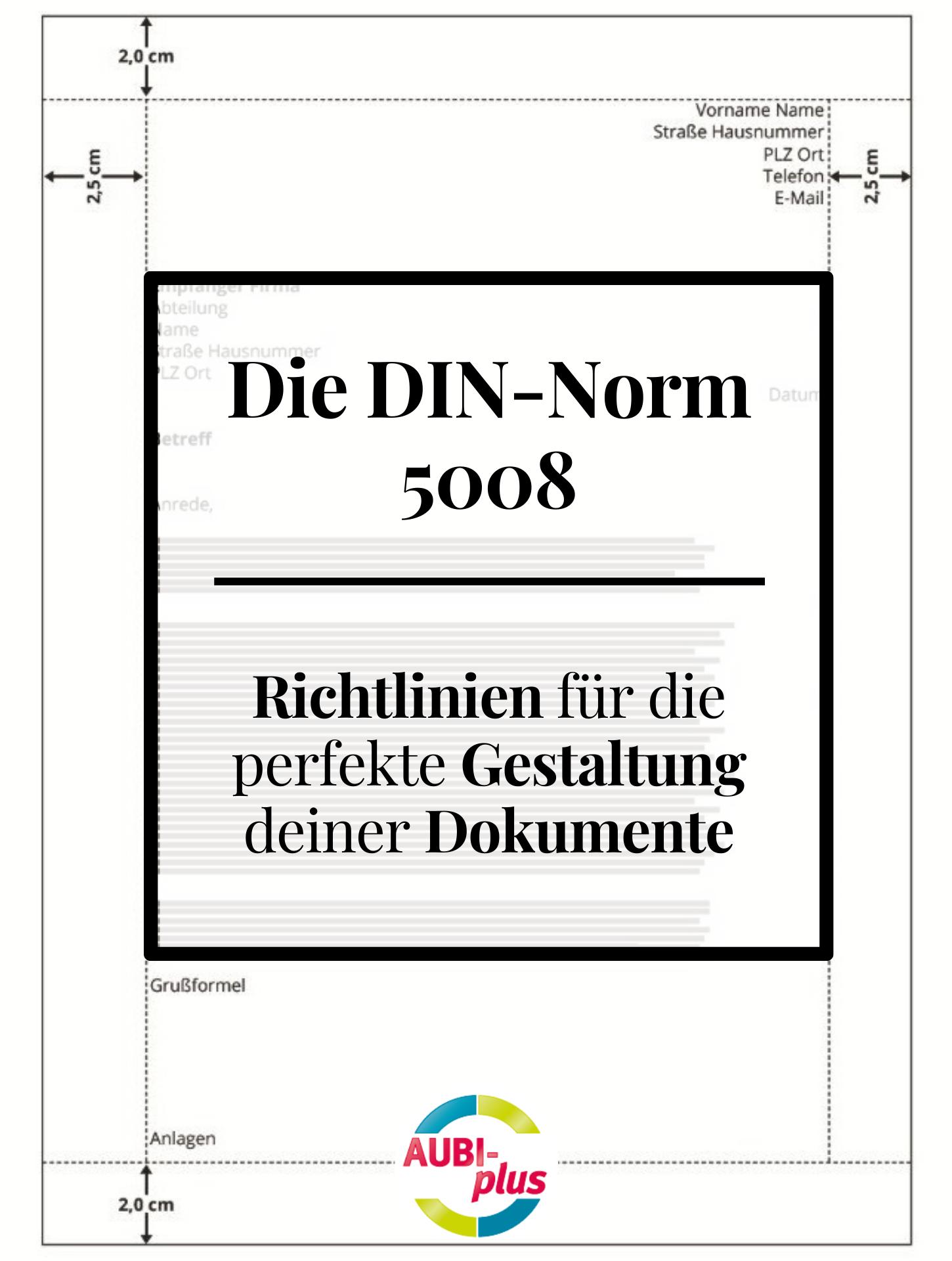 Din Norm 5008 Richtlinien Der Textgestaltung In 2020 Bewerbung Geschaftsbrief Bewerbungstipps