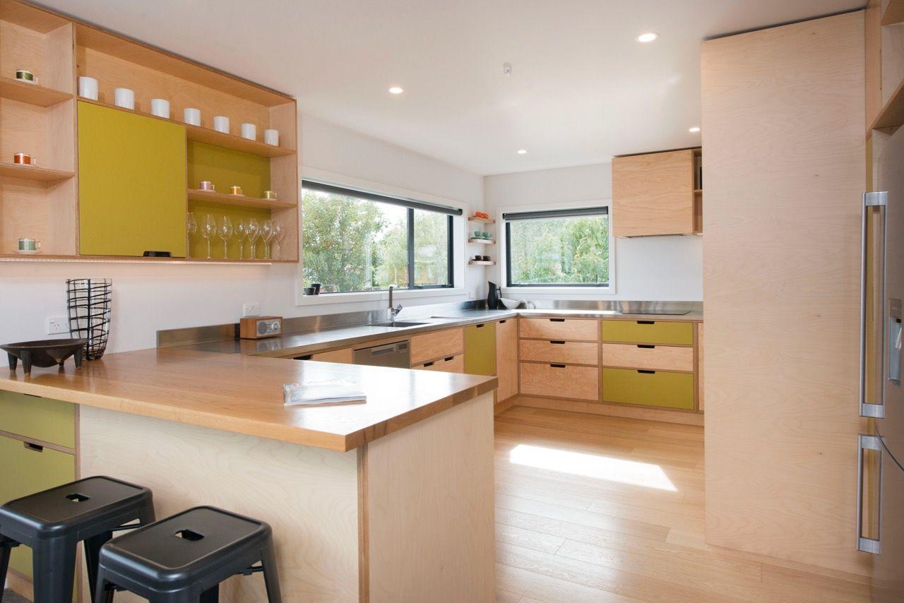 Shakespeare Walk | Plywood kitchen, Mid century modern ...