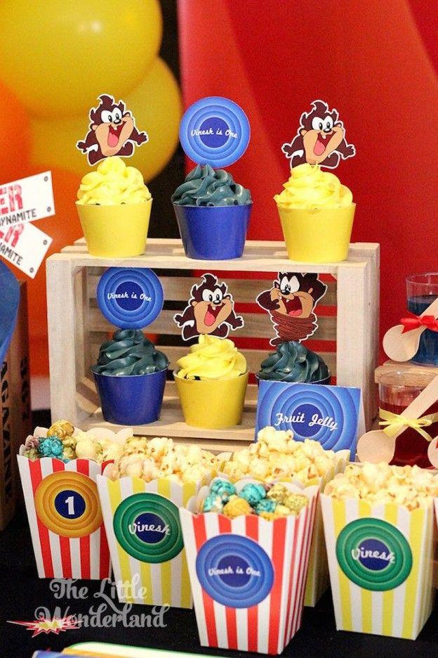 Baby Looney Tunes Theme Baby Shower : looney, tunes, theme, shower, LOONEY, TUNES
