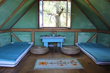 One of our eco-cabins.
