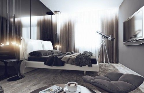 22 dise os de dormitorios para hombres x pinterest for Disenos de cuartos para hombre