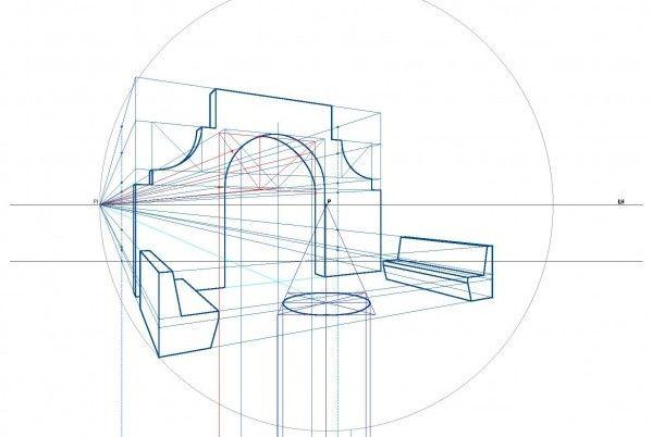 Aula Tecnica Online Geometria Descriptiva Ii Intensivo Sketches